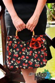 Miss Happ Rockabilly and Pin Up Clothing: New Retro inspired handbags by Miss Happ