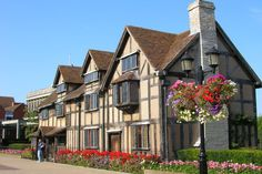 Here was born Shakespeare. Stratford