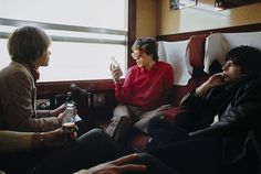 Brian, Mick and Keith