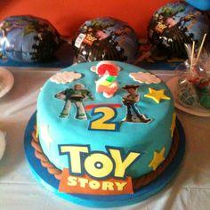 Letrero de Toy Story de azúcar!!! mmmm!!! :p  (Carolina!!!!)