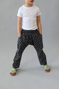 cutest pattern harem pants for kids and tweens