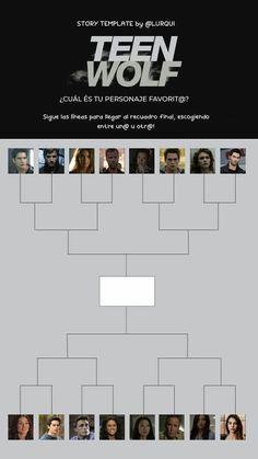 Teen Wolf, Netflix, Allison Argent, Story Template, Movie List, Instagram Story, Challenges, Templates, Serie Tv