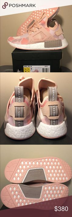 New Adidas NMD XR1 PinkCamo Sz 5.5, 6.5, 7, & 9 Brand new hard to find pink camo NMD XR1  For Better Pricing ☎️📞📲      FourZeroTwo 507 EightEight5Two adidas Shoes Athletic Shoes