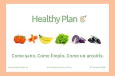 Come sano. Come limpio. Come un arcoiris. #Saludable #HealthyOptions #Buenoparami