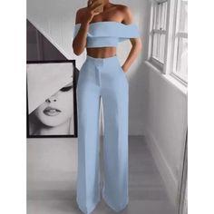 Suit Fashion, Fashion Pants, Look Fashion, Fashion Dresses, Fashion Jumpsuits, Sexy Fashion Style, Ladies Fashion, High Fashion, Formal Fashion