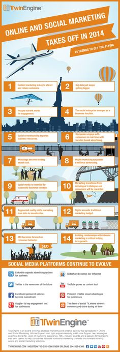 14 #Digital and #SocialMediaMarketing Trends for 2014