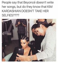 Beyoncé Kim Kardashian West