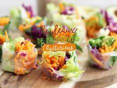 Rouleaux de printemps végétariens • Hellocoton.fr
