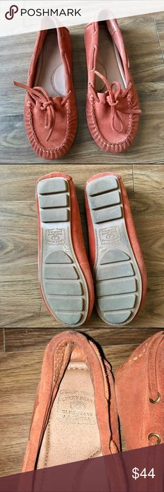 "💥Lucky Brand Moccasins Suede casual moccasins. Comfortable memory foam footbeds rubber heels outsoles antibacterial, breathable napa lining whipstitching ""ONLY WORN ONCE"" lots of years of life left in them. Lucky Brand Shoes Moccasins"