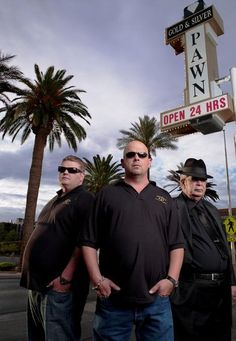Pawn Stars very knowledge show with friendly and funny workers. Love their work environment .