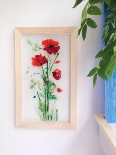 Large Weekender Carry-on Blooming Tulip Poppy Ambesonne Gym Bag