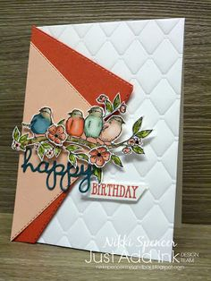 Stampin' Up! Free as a bird, bird ballad suiteYou can find Stampin up and more on our website.Stampin' Up! Free as a bird, bird ballad suite Slider Card, Karten Diy, Masculine Birthday Cards, Masculine Cards, Fun Fold Cards, Stamping Up Cards, Bird Cards, Card Sketches, Homemade Cards