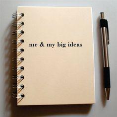 Personalized Custom Journal - Me & My Big Ideas