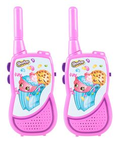 Another great find on #zulily! Shopkins™ Night Action Walkie Talkie by Shopkins™ #zulilyfinds