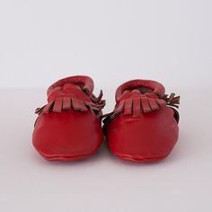 Super soft and durable leather soled shoes in sizes Available in a range of colours. Baby Footwear, Moccasins, Baby Shoes, Red, Leather, Shopping, Collection, Fashion, Penny Loafers