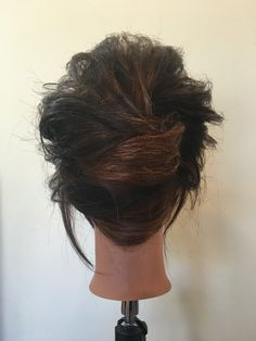 Messy French twist 1