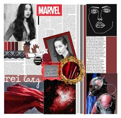 """battle of the marvel academy round o1"" by birdy3000 ❤ liked on Polyvore featuring art and marvelacademyround1"
