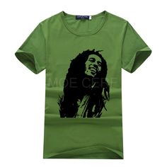 575568911 Fashion Popular Style T shirt Men Print Bob Marley T shirt 3d Brand  Clothing Summer Tops Hip Hop T Shirt S15 G#-in T-Shirts from Men's Clothing  ...