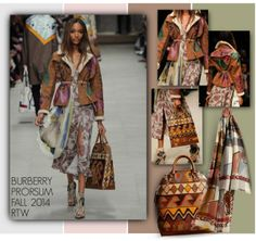 """""""BURBERRY PRORSUM FALL 2014 RTW"""" by emavera ❤ liked on Polyvore"""