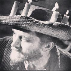 """Lust For Life"" (1956)  Kirk Douglas in the candelabra crown of Vincent Van Gogh"