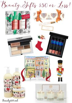 Gift giving made easy! Beauty Gifts $50 or Less! #Gifts