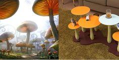 Inspired: Alice in Wonderland's Wild Mushrooms