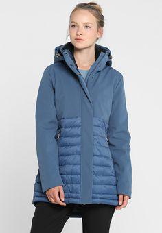 Luhta BONITA - Parka - blue - Zalando.no Parka, Jackets, Blue, Women, Down Jackets, Women's, Hoodie, Parkas, Cropped Jackets