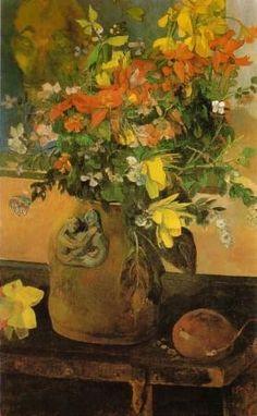 paul gauguin flowers | Paul Gauguin (1848-1903) French Artist