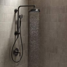 High Quality View The Kohler Artifacts HydroRail Custom Shower System Artifacts  HydroRail Shower Package With Single Function. Rain Shower HeadsHand ...