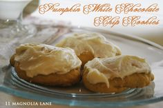 The most delicious cookies for fall. {Pumpkin White Chocolate Chip}