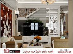 Nội thất nhà phố đẹp phòng khách cổ điển - Ngôi nhà xinh