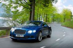 Bentley Continental GT Speed Coupe.