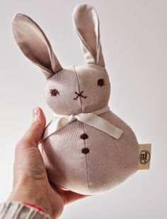 For each and every Easter Basket: //// P. Dot Club, Sewing Crafts, Sewing Projects, Bunny Hutch, Stuffed Animal Patterns, Stuffed Animals, Soft Sculpture, Plush Dolls, Softies