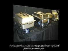 8 Qt. Economy Chafer Stainless Chafing Dish. Webstaurant.com