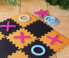 Giant Outdoor Games DIY   Giant Noughts and Crosses Garden Game - Ebeez.co.uk