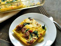 Did you know Silk® has a ton of tasty recipes, like  this one for Sausage and Pepper Crustless Quiche? http://silk.com/recipes/sausage-and-pepper-crustless-quiche
