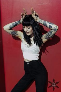 Hannah Snowdon • amazing tattoo artist and designer