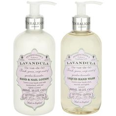 Penhaligon's Lavandula Liquid Hand Set (445 DKK) ❤ liked on Polyvore featuring beauty products, bath & body products, fillers, beauty and makeup