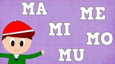 Sílabas MA ME MI MO MU - Syllable with M - Aprender a Leer