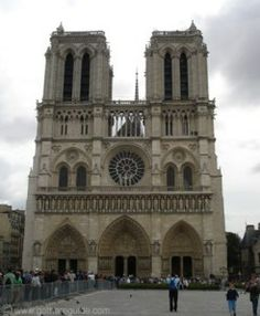 Notre-Dame de Paris, also called Notre-Dame Cathedral,cathedral church in Paris, France.It is the most famous of the Gothic cathedrals of the Middle Ages and is distinguished for its size,antiquity, and architectural interest.