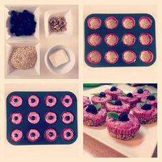 Tvarohové dortíčky Sweet Recipes, Food And Drink, Cupcakes, Breakfast, Fitness, Desserts, Med, Morning Coffee, Tailgate Desserts