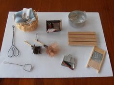 dolls houses and minis: How to Make Items For the Dolls House Laundry