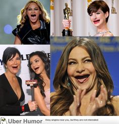 Celebrities without teeth. I seriously lmao'd