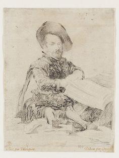 Portrait of the dwarf Don Diego de Acedo, called 'El Primo'   Goya, Francisco de…