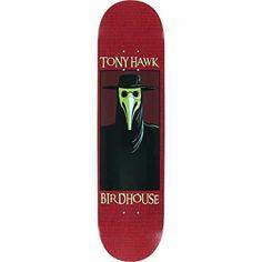 Birdhouse Skateboards Hawk Plague Deck, 7.75: Birdhouse Skateboards professional quality deck 7 ply hardrock Canadian maple Covered under…