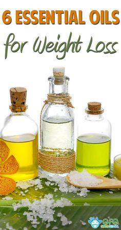 6 Essential Oils for Weight Loss | http://www.grassfedgirl.com/6-essential-oils-for-weight-loss/