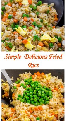 This recipe is easy, healthy and the kids will love making and eating it for dinner! Delicious Recipes, Tasty, Garlic Roasted Potatoes, My Best Recipe, Meatloaf Recipes, Special Recipes, Rice Dishes, Yummy Drinks, Fried Rice