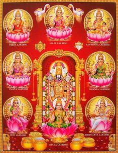 Tirupati Balaji and Ashta Laxmi Shirdi baba bless our home us all with your wealth and prosperity blessings thank you om sai ram bless us all Durga Images, Lakshmi Images, Om Namah Shivaya, Lakshmi Photos, Saraswati Goddess, Kali Goddess, Shiva Shakti, Lord Murugan Wallpapers, Hindu Statues