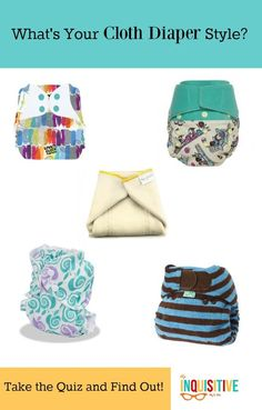 Does your stash truly reflect your style? Take this cloth diaper quiz to find out!