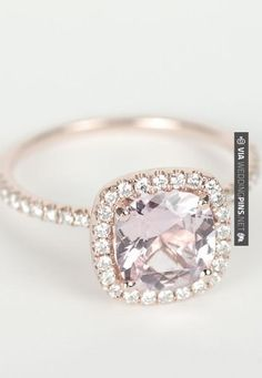 So neat - Peach Pink Cushion Sapphire Diamond Halo Engagement Ring. Around $3000 | CHECK OUT MORE IDEAS AT WEDDINGPINS.NET | #weddings #weddingplanning #coolideas #events #forweddings #weddingplaces #romance #beauty #planners #weddingdestinations #travel #romanticplaces #eventplanners #weddingdress #weddingcake #brides #grooms #weddinginvitations